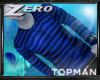 |Z| Topman Blue Stripe