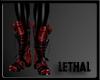 [LS] Pvc leopard red.