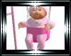 Baby girl swing