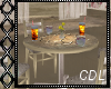!C* Floral Coffee Table