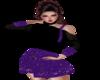 Sweater Dress purple