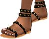 Black Leigh Boho Sandals