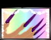 [X] Purple Nails F