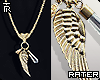 ✘ Wing Necklace.