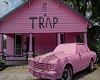 Pink Trap House -canvas