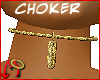 [m] Choker Hawt Gold