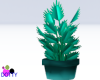 teal neon plant