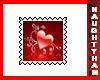 (N) Heart-10 Stamp