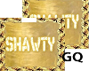 Plated Gold Name SHAWTY