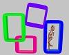 Neon Friend Pose Boxes