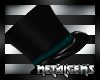 CEM Goth Lord Hat Teal