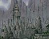 village hidden in rocks
