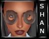 Chocolate doughnut eyes