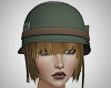 Military Helmet / Hair