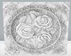 !Em White Marble Rose Fl