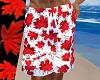 (K) maple leaf swim suit