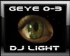 DJ Light Green Eye