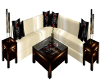 Mountain Rose Couch Set