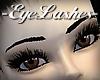 Clumpy Eyelashes