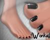 W° Bare Feet ~Liquorice