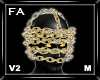 (FA)ChainFaceOLMV2 Gold2