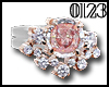 *0123* Pink Diamond Ring
