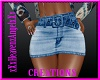 Jean Skirt Tye-Dyed 1