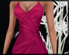 Hot Pink Fishtail Gown
